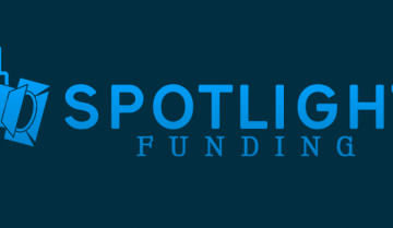 Logo of Spotlight Funding with transparent background
