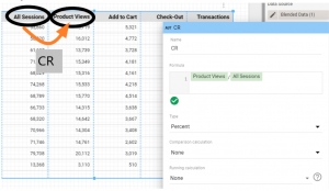 Adding a column - calculated metric - to a bkended Google Data Studio table