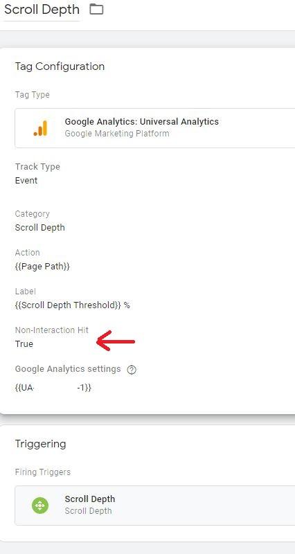 Google Tag Manager Scroll Depth Tag Set Up