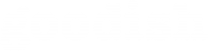 Goodish logotype white