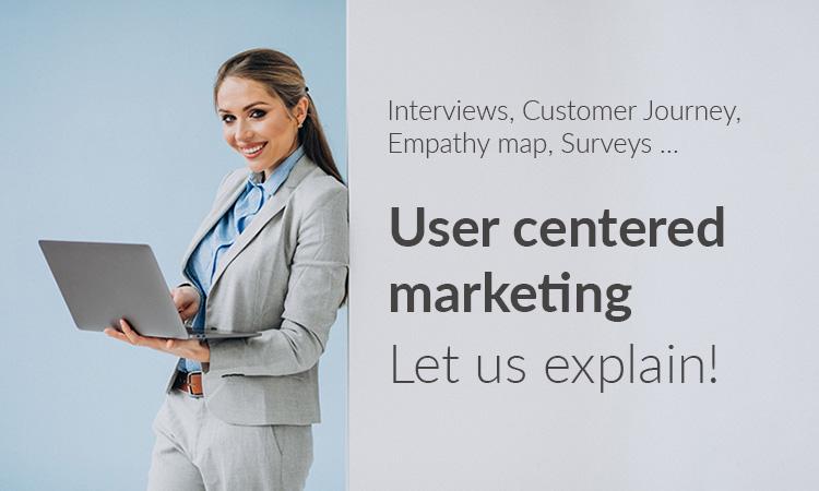user centred marketing