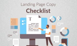 landing page copy checkelist