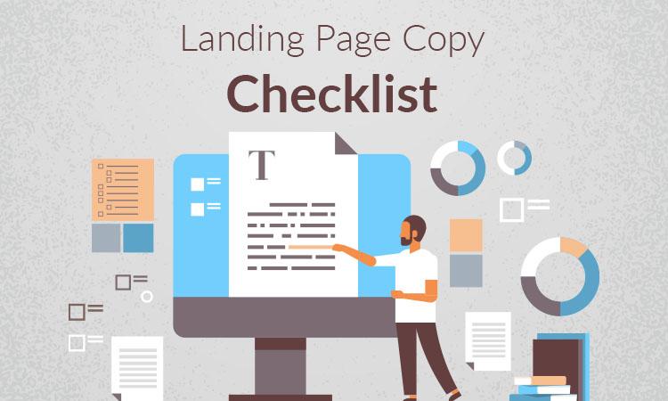 landing page copy checkelist