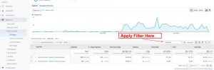 Apply Filter Google Analytics