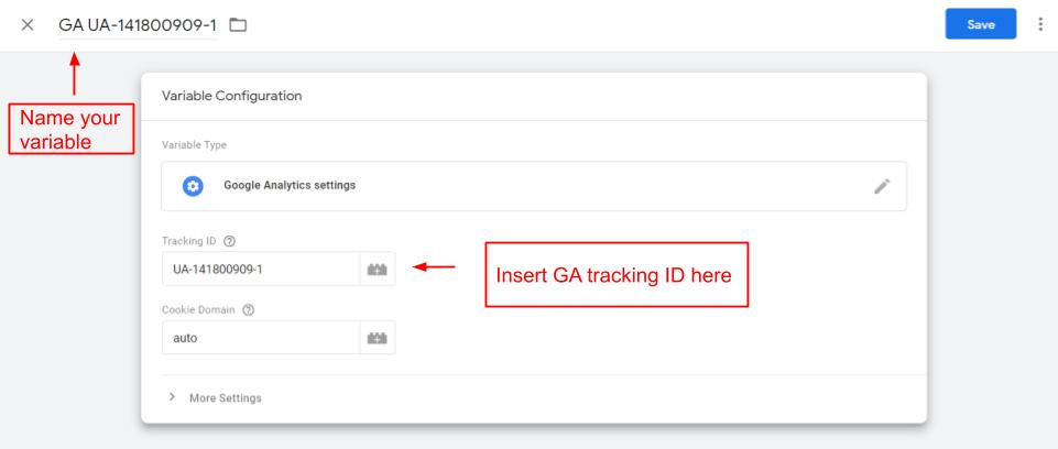 Google Analytics Custom Variable in Google Tag Manager
