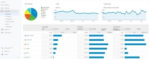 Overview Report Google Analytics