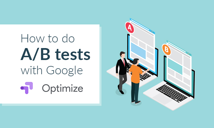 AB tests with Google Optimize