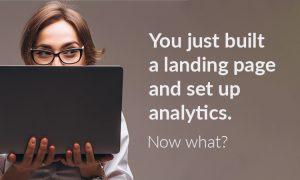 Landing page tracking